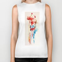 splash Biker Tanks featuring Splash by zeze