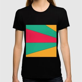 Sunrise vivid color pop-art graphic T-shirt