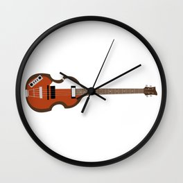Macca Bass Wall Clock