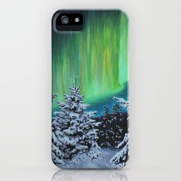 Northern Lights, Algonquin Park iPhone Case