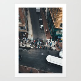 Boston Crossing Art Print