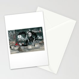 Witch's Garden Stationery Cards