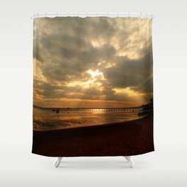 The Angels Are Calling Shower Curtain