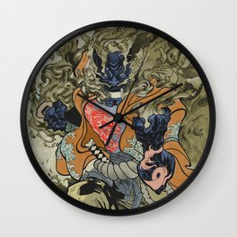 Fire God Wall Clock
