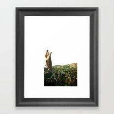 Meowtar Blast Framed Art Print