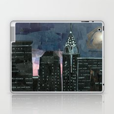 Night time in the city Laptop & iPad Skin