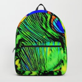 Eye Of The Peacock - Graphic 1 Backpack