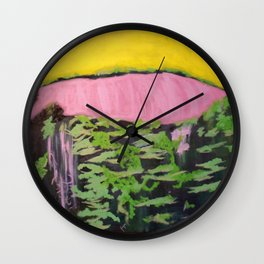 Place of Rarest Beauty Wall Clock