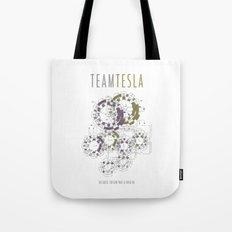 Team Tesla Tote Bag