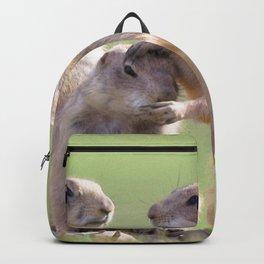 Watercolor Prarie Dog 08, Boulder County, Colorado, Good Job Backpack