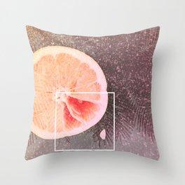 Grapefruit Dreams Throw Pillow