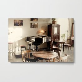 Portrait of an AntiCafe Metal Print