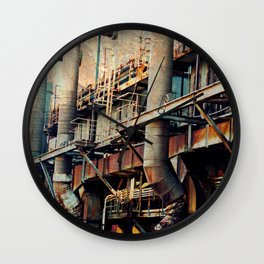 Pipe Dreams II  Wall Clock