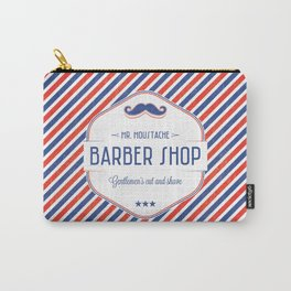 Mr. Moustache Barber Shop Carry-All Pouch
