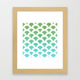 Cool Scales Framed Art Print