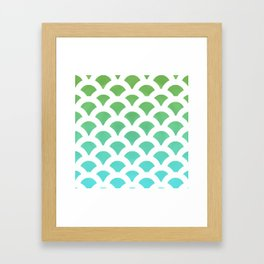 Cool Scales Framed Art Print