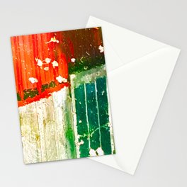 City Aflame and Drowning Stationery Cards