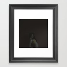 SOLITARY SOUL Framed Art Print