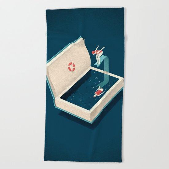 Diving Beach Towel