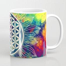 Flower Of Life (Lively World) Coffee Mug