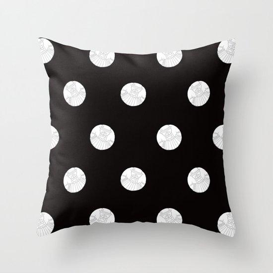 Polka like you mean it Throw Pillow