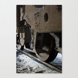 Trains - Wheel Set Canvas Print