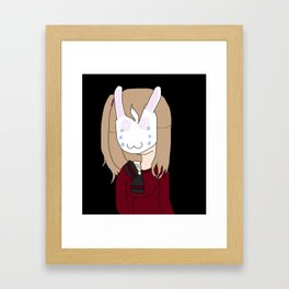 bunny saya Framed Art Print