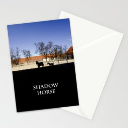 shadow horse Stationery Cards
