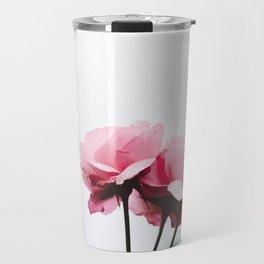 pink roses #society6 #decor #buyart Travel Mug