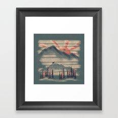 Mountain Goat Drifter... Framed Art Print