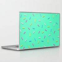 sprinkles Laptop & iPad Skins featuring Sprinkles! by Planet64