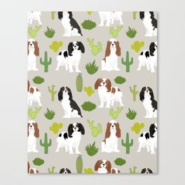 Cavalier King Charles Spaniel must have gift accessories for dog breed owner king charles dog Canvas Print
