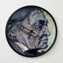 Old Crow Indian Wall Clock
