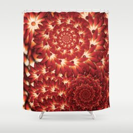 Feathered Mess Shower Curtain