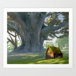 Big Tree Art Print