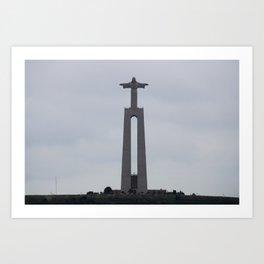 Cristo-Rei Statue - Lisbon, Portugal Art Print