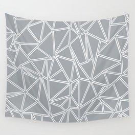 Ab Blocks Grey #2 Wall Tapestry