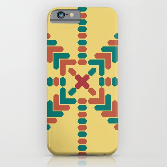 X Marks the Center iPhone & iPod Case