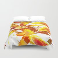 lily Duvet Covers featuring Lily by ANoelleJay