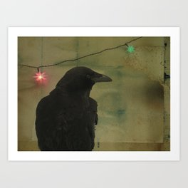 Dark Crow Celebration Art Print