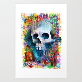 M de morte Art Print