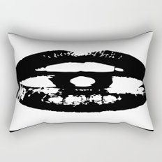 A Black Kiss Rectangular Pillow