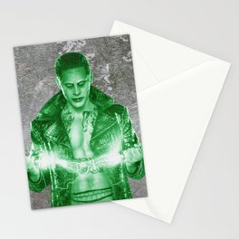 Suicide Joker on the wall Stationery Cards