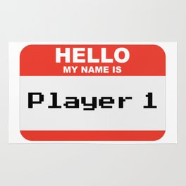 Hello my name is Player 1 Rug
