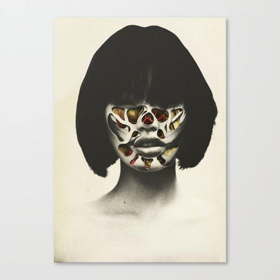 Bow & scrape (2015)  Canvas Print