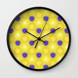 A bit of sun Wall Clock