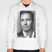 prometheus Hoodies featuring Michael Fassbender - Portrait by Thubakabra