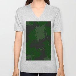 Camouflage jungle 1 Unisex V-Neck