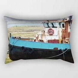 Rusted ship Rectangular Pillow