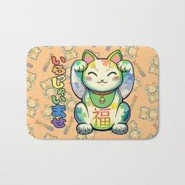 Maneki Neko Lucky Bath Mat